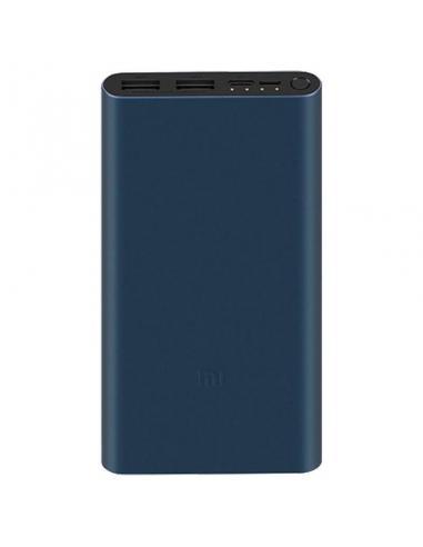 BATERÍA EXTERNA XIAOMI MI POWER BANK 3 NEGRA - 18W - 10000MAH - QC 3.0 - 2*USB TIPO A / USB TIPO C / MICRO USB - Imagen 1