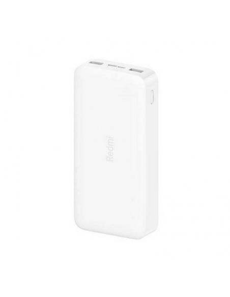 BATERÍA EXTERNA XIAOMI REDMI POWER BANK WHITE - 18W - 20000MAH - 2*USB TIPO-A - Imagen 1
