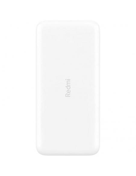 BATERÍA EXTERNA XIAOMI REDMI POWER BANK WHITE - 18W - 20000MAH - 2*USB TIPO-A - Imagen 2