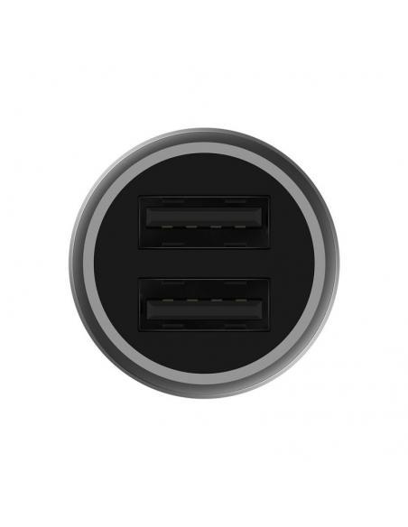 CARGADOR DE COCHE XIAOMI GDS4104GL - 2*USB / 2* 2.4A / 5V (9V / 2A, 12V / 1.5A) - 12/24V - SOPORTA QUICKCHARGE 3.0 (18W) - Image