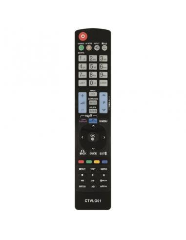 MANDO A DISTANCIA CTVLG01 COMPATIBLE CON TV LG SMART TV - NO PRECISA PROGRAMACIÓN - Imagen 1