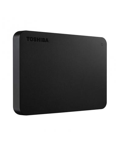 DISCO DURO EXTERNO TOSHIBA CANVIO BASICS HDTB440EK3CA - 2.5'/6.35CM - 4TB - USB 3.0 - MAX TRANSFERENCIA 5GBPS - ALIMENTACIÓN USB