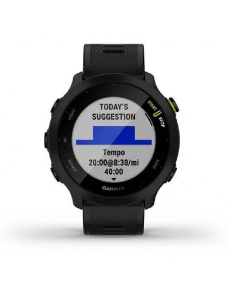 Smartwatch Garmin Forerunner 55/ Notificaciones/ Frecuencia Cardíaca/ GPS/ Negro - Imagen 2